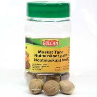 Muskat Tane - Muskatnuss ganz 15 Stk. 100g Gülcan