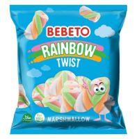 Bebeto Rainbow Twist Marshmallow 135g