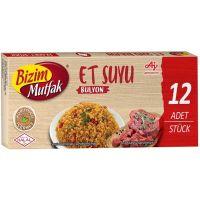 Et Suyu Bulyon 12 Stück Bizim Mutfak 120g