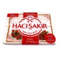 Haci Sakir Gül Saf Sabun - Rosenduft Stückseife...